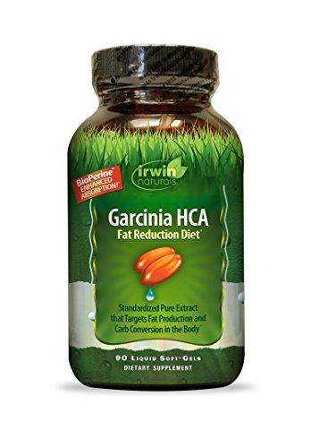 Irwin Naturals Garcinia Hca Fat Reduction Diet Supplement, 90 Count