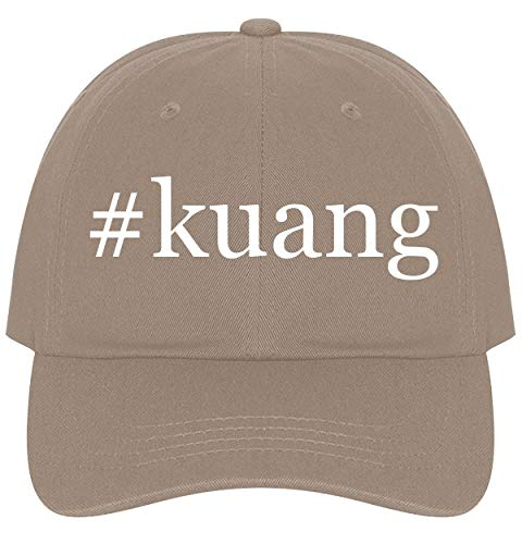 (The Town Butler #Kuang - A Nice Comfortable Adjustable Hashtag Dad Hat Cap, Khaki)