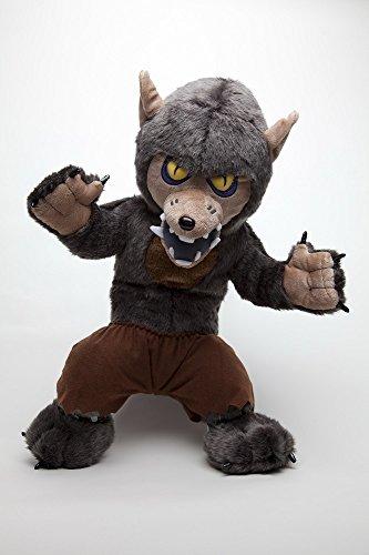Stuffless Wolfman Puck Collectible Werewolf Plush ()