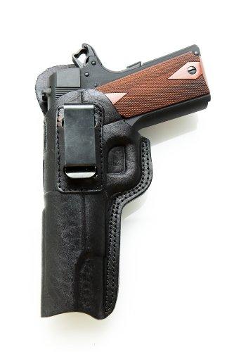 "LEATHER IWB Holster Colt 1911 - 5"". Black L/H"