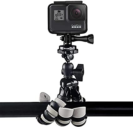 2 Xiaoyi Action Cameras Sjcam Sametop Tripod Mount Adapter Compatible with GoPro Hero 8 Hero 7 2018 DJI Osmo Session 5 3 1 6 4 Packs Fusion 3+ 4