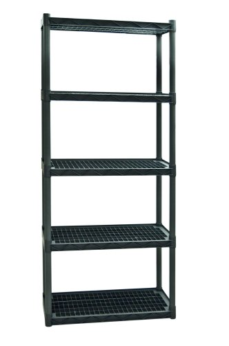 Review Plano Molding 925 Heavy Duty Shelving with Vents, 5-Shelf By Plano Molding by Plano Molding