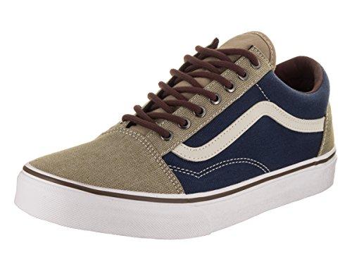 8edf423bd3 Galleon - Vans Unisex Old Skool (T H) Dress Blues Khaki Skate Shoe 6.5 Men  US 8 Women US