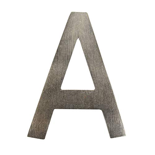 Architectural Mailboxes 3582APA-A House Letter, 4 inch, Antique Pewter