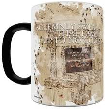 OFFICIAL HARRY POTTER MARAUDERS MAP LARGE HEAT CHANGING COFFEE MUG CUP NEW BOXED