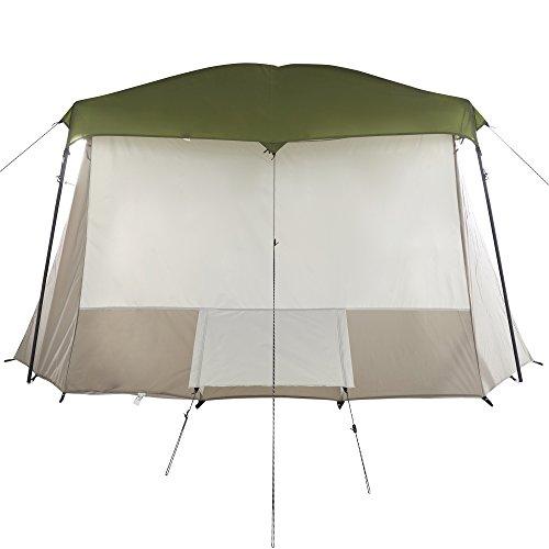 Wenzel Klondike 16 x 11 Foot 8 Person 3 Season Screen Room Camping Tent, Green