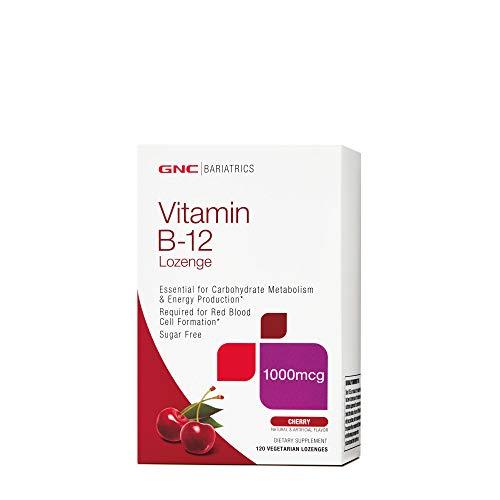 GNC Bariatrics Vitamin B-12 Lozenge - Cherry