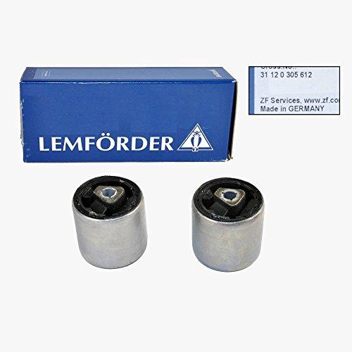(BMW Upper Control Arm Tension Strut Bushing Set Front Lemforder OEM 305612)