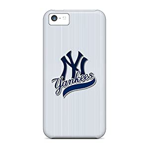 Awesome New York Yankees Flip Case With Fashion Design For Iphone 5c