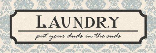 Laundry Suds - Mini Modern Funny Cool Room Sign Wash Popular Ad Laundry Dry Tasteful Dorm Decor 18X6 - Funny Laundry