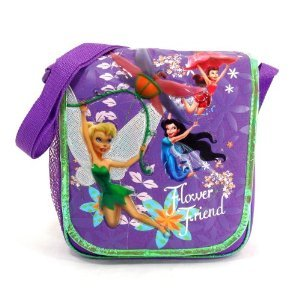 Disney Fairies - Flower Friends Insulated Lunch Tote Featuring Tinker Bell