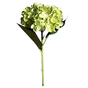 Alelife 2019 Artificial Flower Hydrangea Fake Silk Flower Home Wedding Party Floral Decor Bouquet Party Centerpieces Bridal Party Home Room Decor (F) 26
