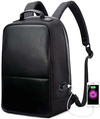 4a2975da6 Bopai Anti-Theft Business Backpack 15.6 Inch Laptop Water-Resistant with  USB Port Charging