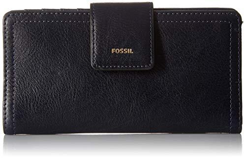 (Fossil Logan RFID Tab Wallet, midnight navy)
