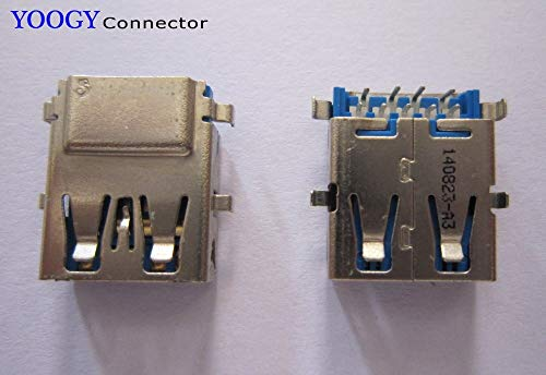 Gimax Laptop USB3.0 Jack fit for Toshiba Satellite P850 P855 L40-A S40T-A series motherboard female usb 3.0 connector