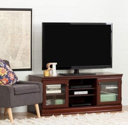 Mueble de salón TV con Soporte de Almacenamiento Color Cerezo: Amazon.es: Juguetes y juegos