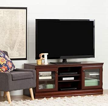 Amazon Com Tv Stands Table Cabinet Royal Cherry Wood For Up To 72