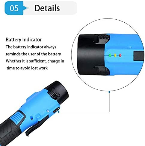 KAMELUN Electric Screwdriver, Rechargeable Cordless Screwdriver with Battery indicator Torque USB Charging Cable Designed for Household Cordless Screwdriver
