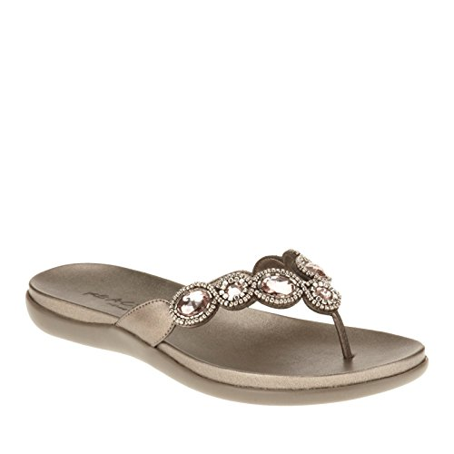 Kenneth Cole Reaction Glam Whiz Beaded Thong Sandals