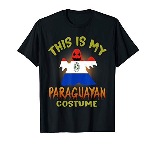 This Is My Paraguayan Costume Boo T-Shirt