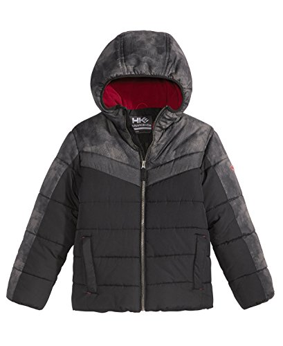 Hawke & Co. Outfitter Brock Hooded Puffer Jacket, Toddler Boys (2/3T) (Hawke Co Outfitter)