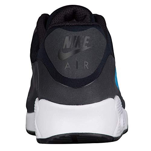 Nike Zapatillas Rosherun Black Para 002 Blue Laser Hombre ppfcrO