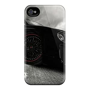 Flexible Tpu Back Case Cover For Iphone 4/4s - Bentley