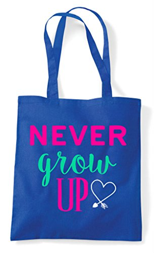Royal Up Bag Shopper Blue Grow Tote Never qw4AvxS