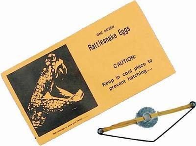 3 Pack Rattlesnake Eggs Gag Prank