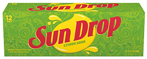 Sun Drop Citrus Soda, 12 Ounce (12 Cans)