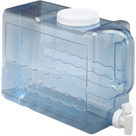 Arrow H2O 2.5-Gal Slimline Beverage Dispenser, Blue