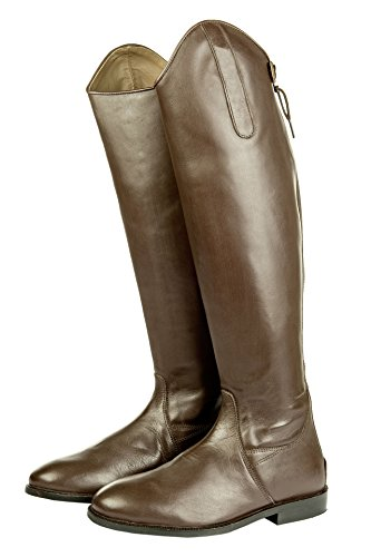 Hkm Riding Boots Italy Soft Leather Regular Brown