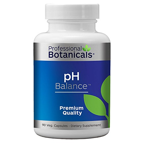 Professional Botanicals PH Balance – Multimineral Supplement for Healthy pH Balance and Reduced Acidity – 90 Vegetarian Capsules