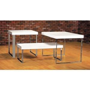 Large Modern White Display Tables
