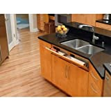 Rev-A-Shelf 25'' Stainless Sink Front Tray Base Organizers, Silver