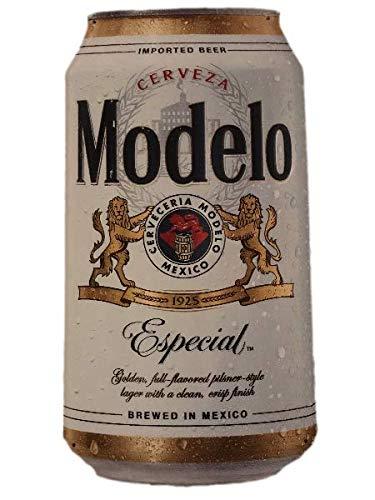 Modelo Especial Metal Beer Can Wall Hanging Tin Tacker Decoration Sign