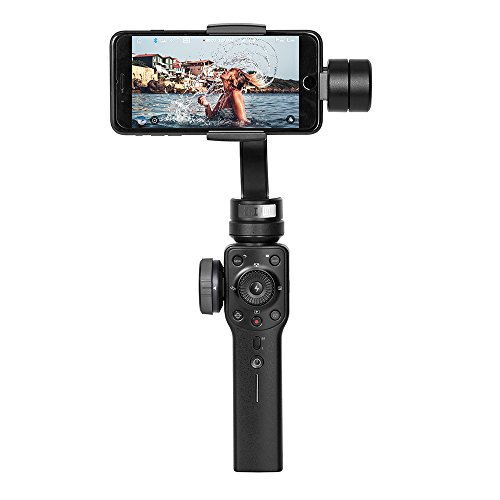 Impulse Handheld (Smooth 4 3-Axis Handheld Gimbal Stabilizer, Bluetooth Control without Touching Phone, New Generation Stabilizer for Mobile Filmmakers, Focus Pull & Zoom)