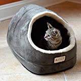 Machine Washable Armarkat Sage Green Cat Bed For Sale
