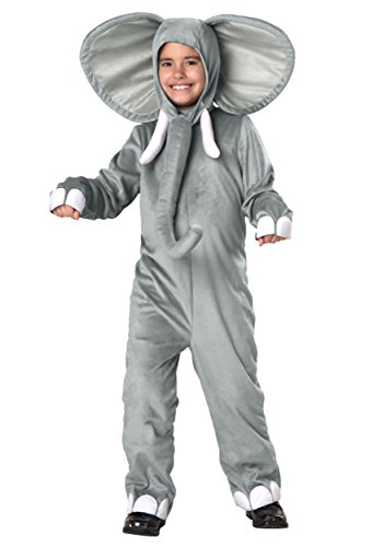 Elephant Costume for Children, Boys Girls Cute Halloween Animal Cosplay Outfit Masquerade Accessory (S) (Cute Country Girl Halloween Costumes)
