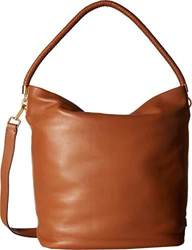 Cole Haan Women's Benson II Bucket Hobo Collection Brown One ()