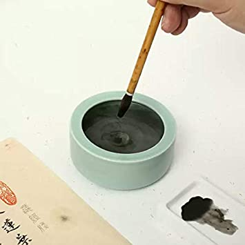 MEGREZ Red Ink Paste Calligraphy Stamp Seal Painting Chinese Yinni Pad 2.11 oz Red Seal Ink Pad 60g