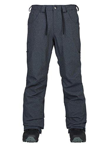 Men's Analog Thatcher Ski Snowboard Pants Denim Size -