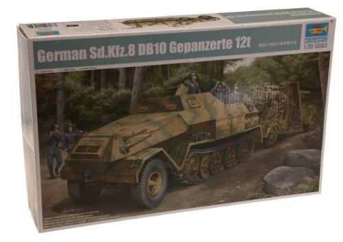 (Trumpeter 1/35 German SdKfz 8 Gepanzerte 12-Ton Halftrack)