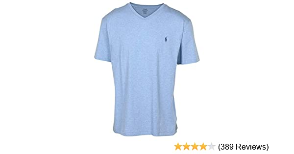 a854b2be40cf Polo Ralph Lauren Men's Classic Fit V-Neck T-Shirt at Amazon Men's Clothing  store: