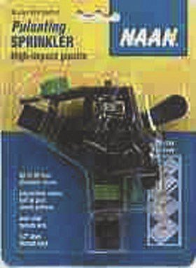 Irrigator Pro 429024 Poly Impulse Sprinkler Head, Black