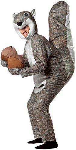 Rasta Imposta Squirrel Costume, Gray, One