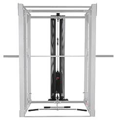 BodyCraft Jones Lat Attachment with 200-Pound Weight Stack