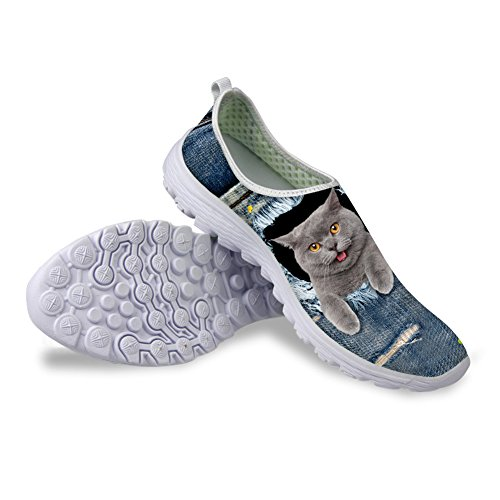 Bigcardesigns Sweety Kitty Female Pattern Running Shoes Sneakers 36 gi6YHDXOT