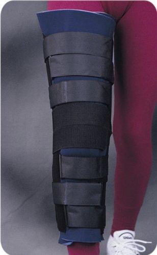 "Bicro Knee Immobilizer with Patella Strap - Universal, 14"""