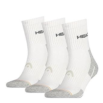 Head Performance Shorts Crew 3P - Calcetines para hombre, Pack de 3